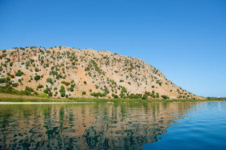 insipid: lake in the hills Stock Photo