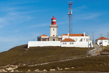 roca: Portugal. Lighthouse. Cabo da Roca