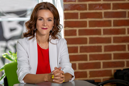 Portrait of a beautiful successful business woman