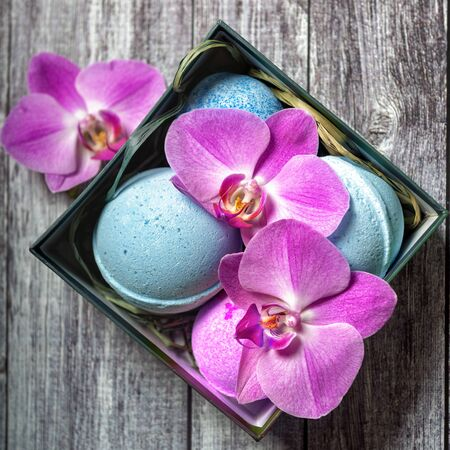 Bomb for the bath. A means for swimming. Ball. Cosmetic. SPA