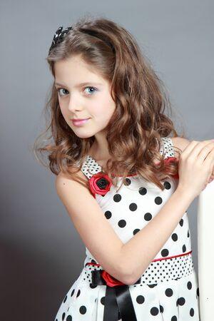 Portrait of a beautiful child  Stock Photo