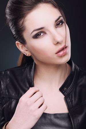 Portrait of  a beautiful girl.