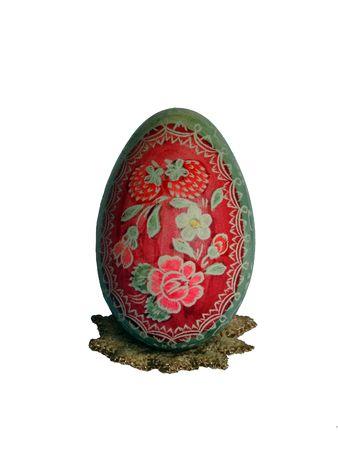religious habit: Easter coloured big egg