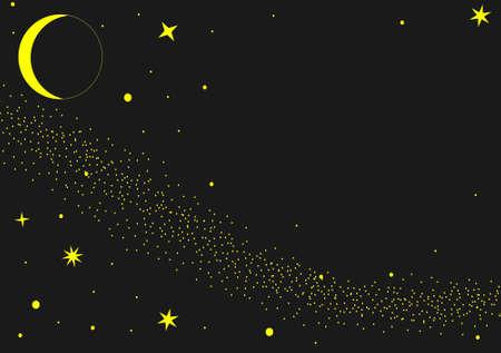 vector of dreams night sky Vector