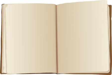catalog: Ilustraci�n - abrir libros antiguos de vectores Vectores