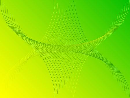 enviromental: Tema de medio ambiente de vector - l�nea abstracta-