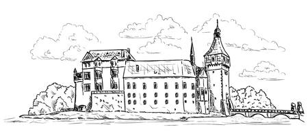 palace: Palace and Castle Blatna - Europe - Czech republic