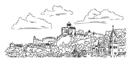 slovakia: Castle Trencin , Slovakia Republic, Europe