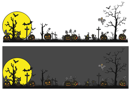 vector - Halloween theme - isolated on background Illustration