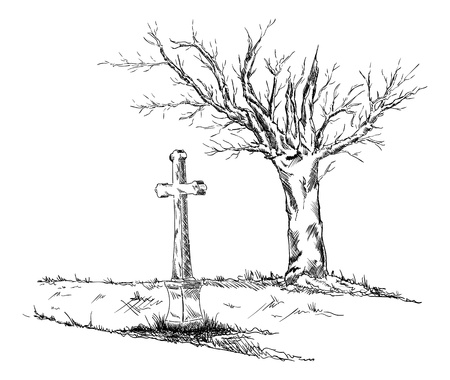 Vector - Calvary isolated on background