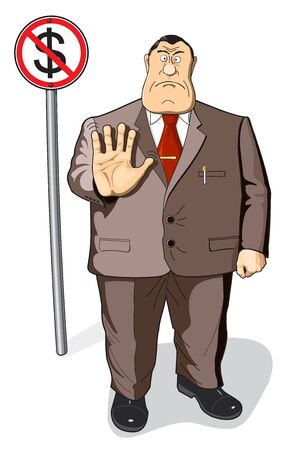 bureaucrat: Boss, businessman, banker, director, manager, employee or worker. Confident, leadership. No money. The money will not give