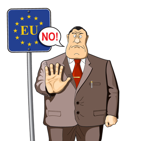 bureaucrat: An employee or officer warns. Immigration, border controls or restrictions in the economy.