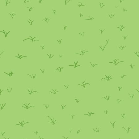 graffity: Seamless abstract pattern of hand drawn grass
