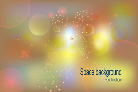 glowworm: Abstract Background. Multi-colored balloons bubbles. Vector illustration