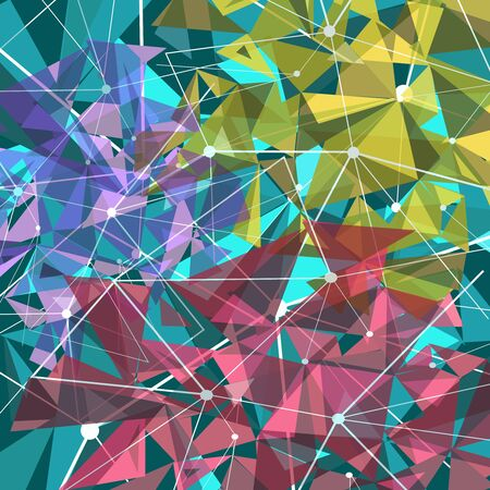 backgroud: Vector illustration of a abstract backgroud with triangles