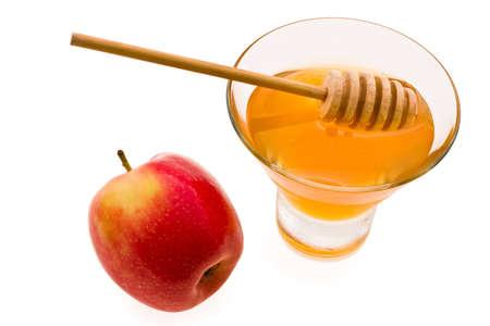 honey and apple symbology new year beside jude Stock Photo - 4109802