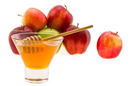 honey and apple symbology new year beside jude photo
