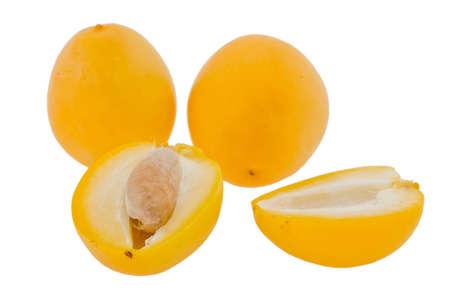deglet:  ripe date taken pictures on white background