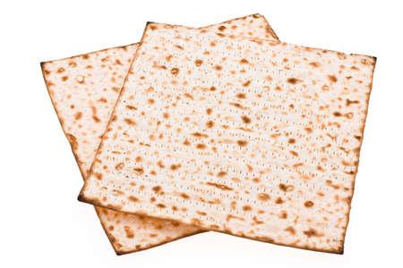 seider: Pieces matzot prepared for celebrating passover ceremony Stock Photo