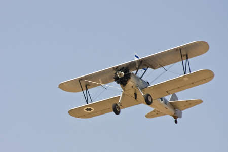 appearance: appearance of the biplane on air holiday