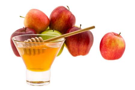 shana tova: honey and apple symbology new year beside jude