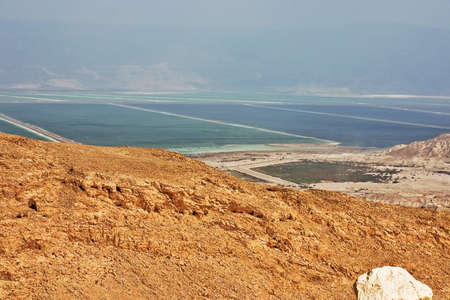 South of the Dead Sea in September photo