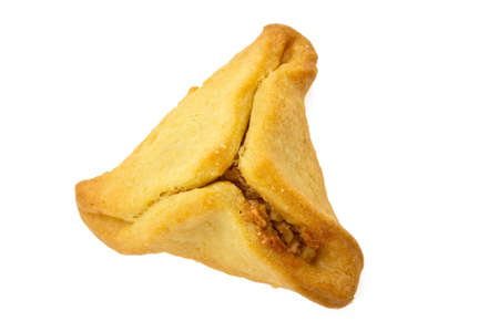 oznei: Cookies for a holiday purim on a white background