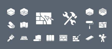 Construction & Repair Icons - Set Web & Mobile