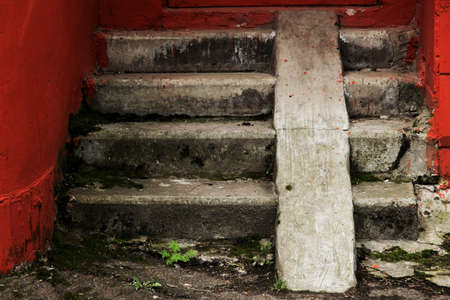 treads: Vintage old stair treads
