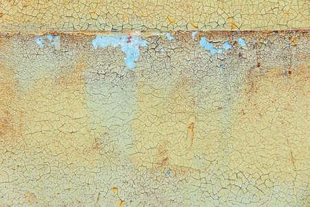 peeling paint: Peeling paint on the wall