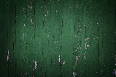 vignette: Green vignette wood background