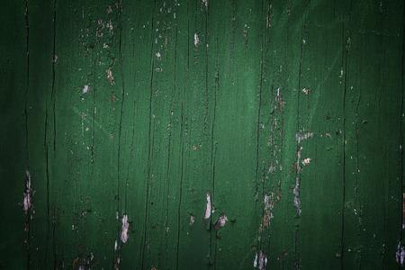 vignette: Green vignette wood background