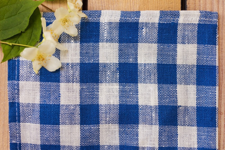 tela algodon: Textura de tela de algod�n de lino azul Foto de archivo