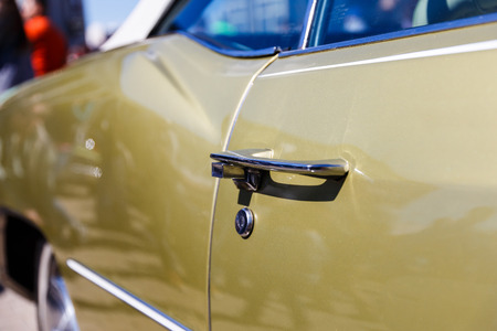 Car Door Handle Vintage Car Stock Photo Picture And Royalty Free