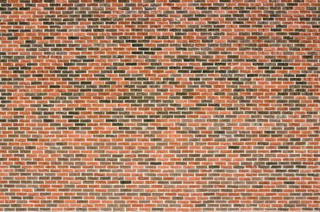 Blind Red and brown brick wall in sunlit. 스톡 콘텐츠 - 5192253