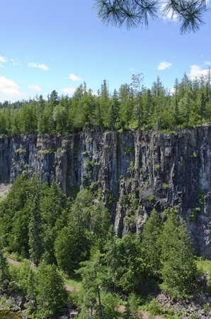eagle canyon: Eagle Canyon near Thunder bay  North of Superior Lake