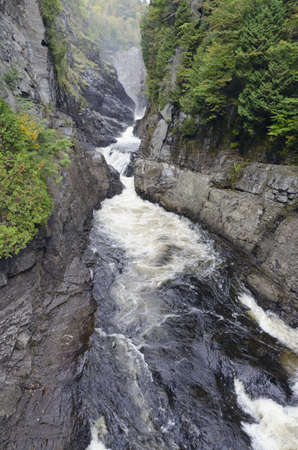 anne: Canyons and waterfalls of Ste. Anne de Beaupre, Quebec.