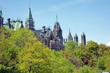 Houses of parliament, Ottawa Canada photo