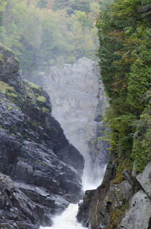 Canyons and waterfalls of Ste. Anne de Beaupre, Quebec. Stock Photo - 17301093