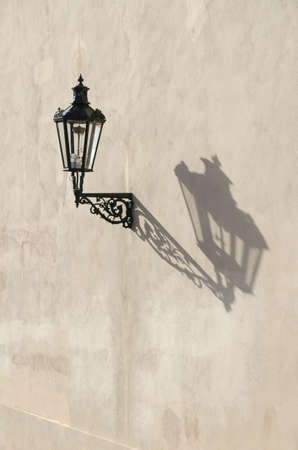 vintage street lamp, Prague, Czech Republic  photo