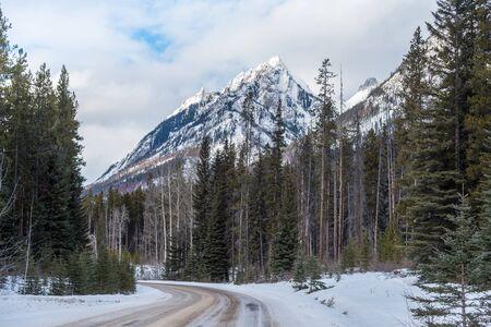 밴프 공원, 앨버타, 캐나다의 록키 산맥