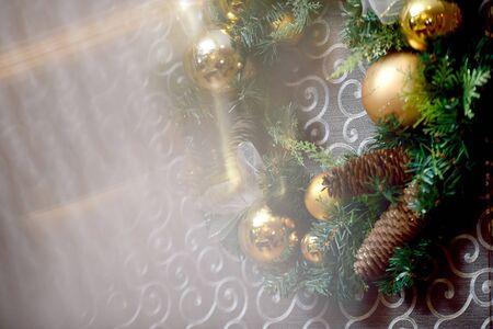 Fröhliche Weihnachten und Rutsch! Standard-Bild - 50558885