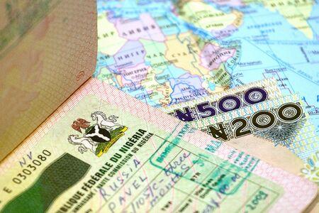 nigeria: Visa, id, money of Nigeria