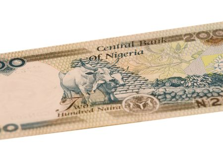 The naira is the currency of Nigeria.  photo