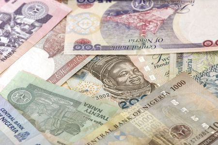 The naira is the currency of Nigeria. Stock Photo - 6299148