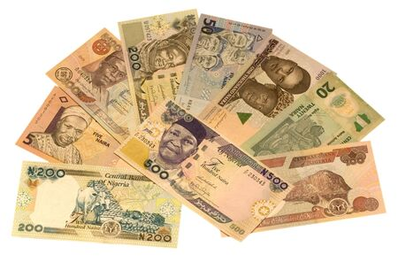 Nairas is the currency of Nigeria photo