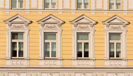 exterior facade view Stock Photo - 9601483