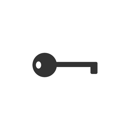 Access, key icon Vector illustration flat Illustration