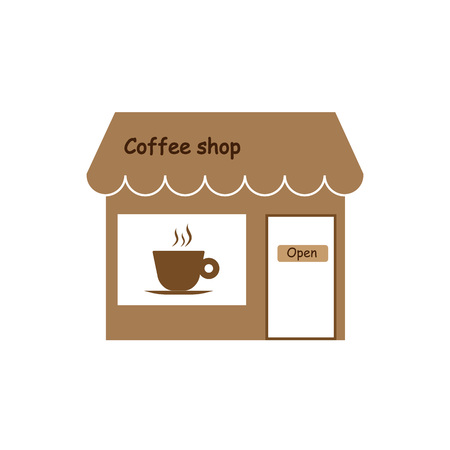 Commerce, shop store icon Vector illustration Illustration
