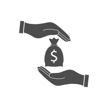 Bribe, bribery, corruption icon Vector illustration flat
